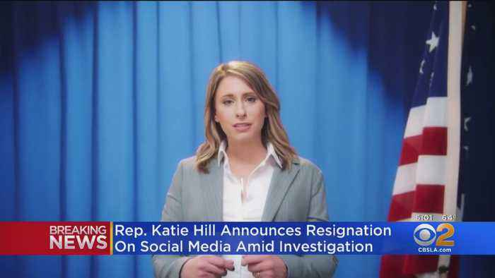 Rep. Katie Hill Resigns From Congress Amid Sexual Misconduct Allegations