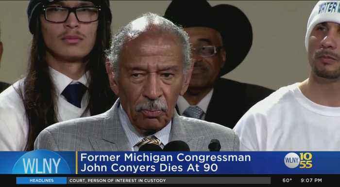 Former Michigan Congressman John Conyers Dies At 90