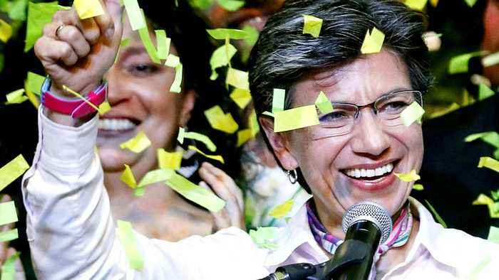 Colombia's capital Bogotá elects first woman mayor
