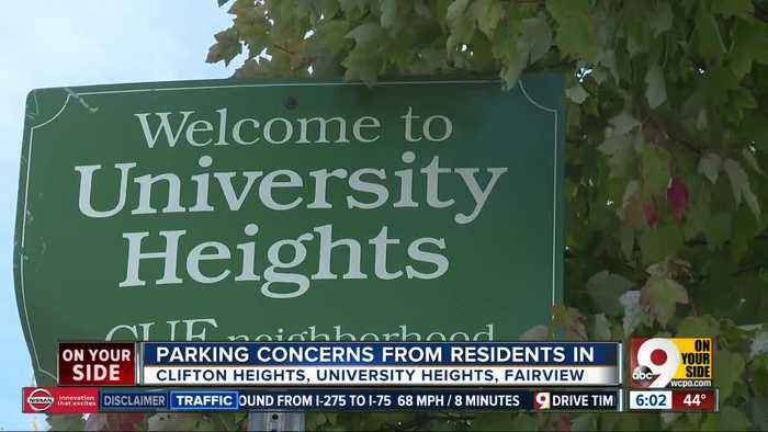 Parking concerns from neighbors near UC's campus