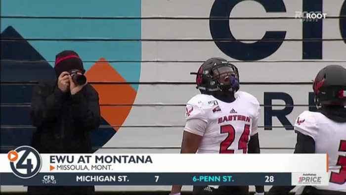 Eastern Washington falls at Montana, dimming playoff hopes
