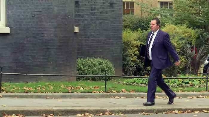 Cabinet ministers arrive at Downing St