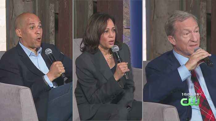 Democratic Presidential Candidates Attend Town Hall In Philadelphia