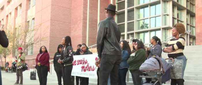 'National Day of Outrage' protests held in Las Vegas