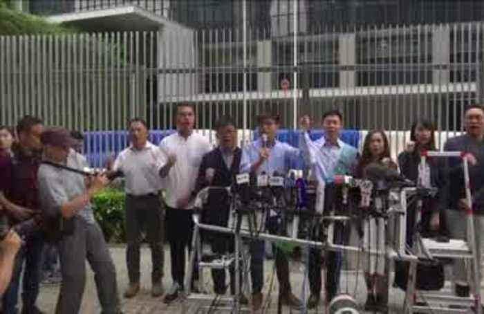 Joshua Wong banned from Hong Kong election