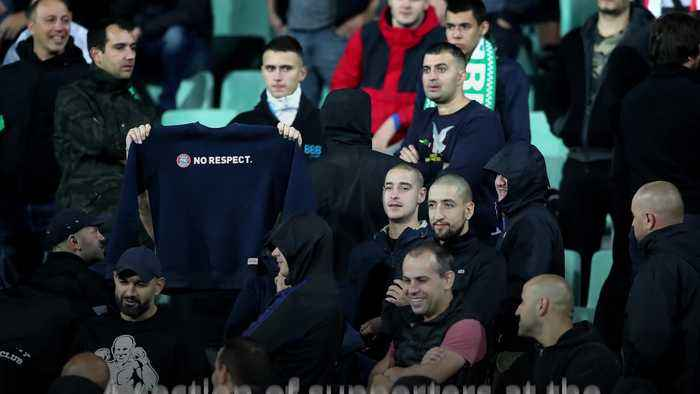 Bulgaria to play next home game behind closed doors as racism sanction