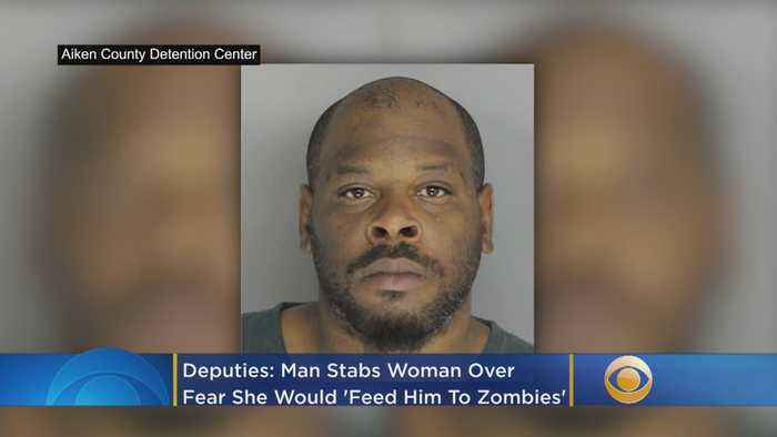 Deputies: Man Stabs Woman Over Fear She Would 'Feed Him To Zombies'
