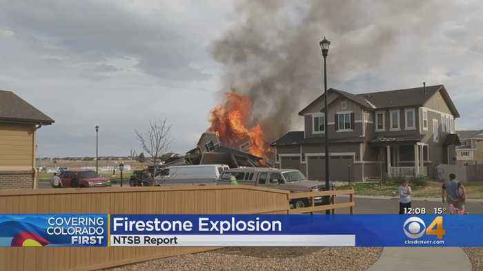 NTSB Issues Final Report On Firestone Explosion