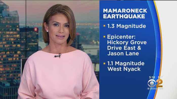 Small Earthquake Hits Mamaroneck