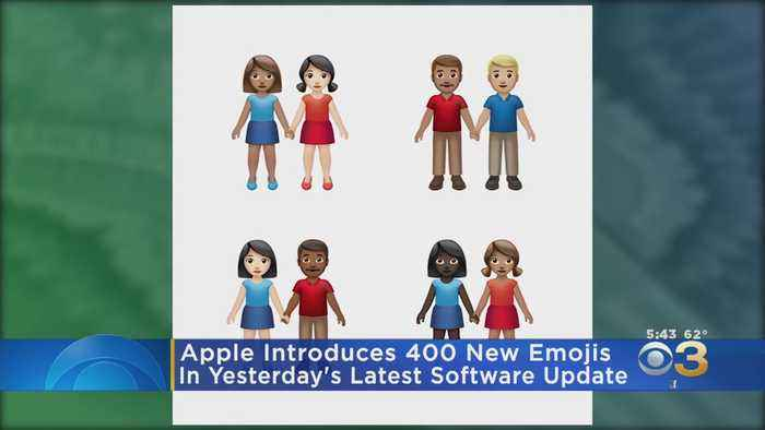 Apple Adding Nearly 400 New Emojis