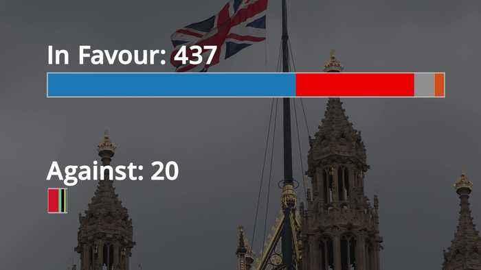 Vote breakdown: Parliament votes for December general election