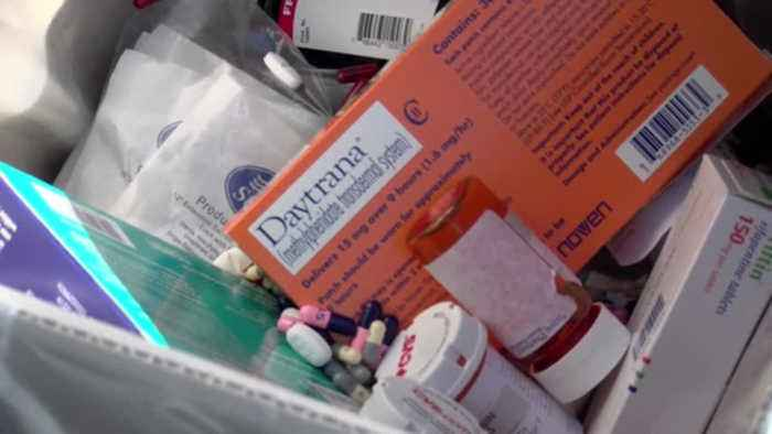DRIVE THRU DRUG TAKE BACK EVENT HELD AT EAST HILLS MALL