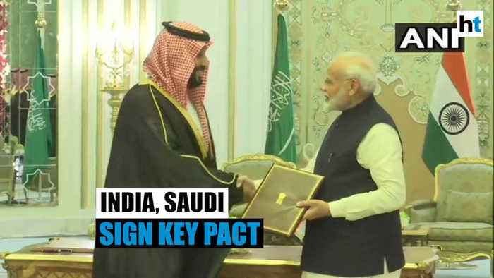 PM Modi meets Saudi prince: Strategic Partnership Council pact signed
