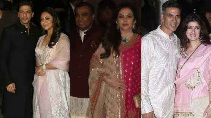 Most Powerful Families of India in Amitabh Bachchan's Grand Diwali Party 2019