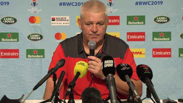 Gatland wishes England the best for World Cup final