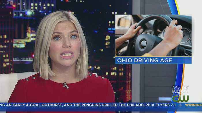 Ohio Lawmakers Advance Bill To Raise Driving Age For Teens