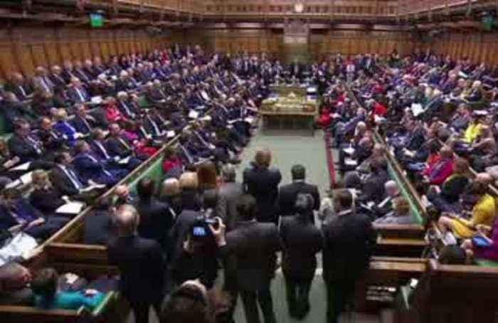 UK's Johnson bids farewell to Bercow on last day as speaker