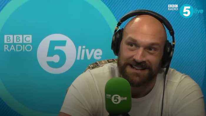 Tyson Fury on Christmas song with Robbie Williams