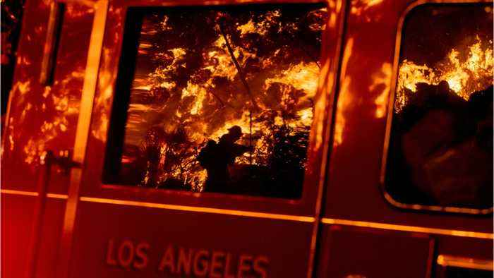 New Fire Near Reagan Library Outside Los Angeles