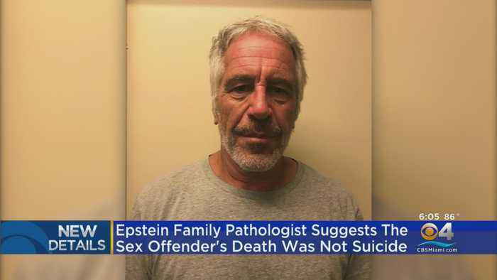 Jeffrey Epstein Family Pathologist Suggests His Death Was Not Suicide