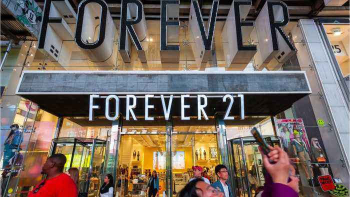 350 Forever 21 Stores Aren't Going To Last Forever