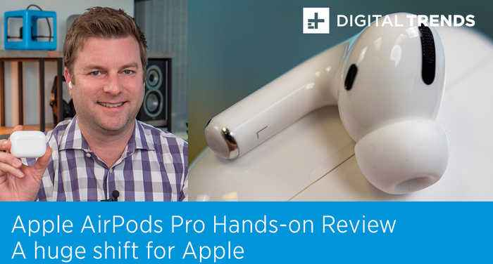 Apple AirPods Pro Hands-on Review | A huge shift for Apple