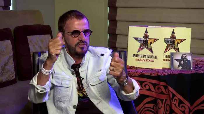 Ringo Starr brings The Beatles back together in new recording