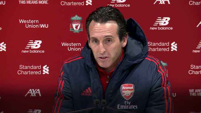 Unai Emery says there were positives to take from Liverpool los