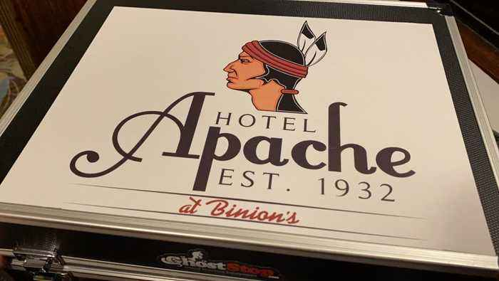 Hotel Apache in downtown Las Vegas, is it haunted?