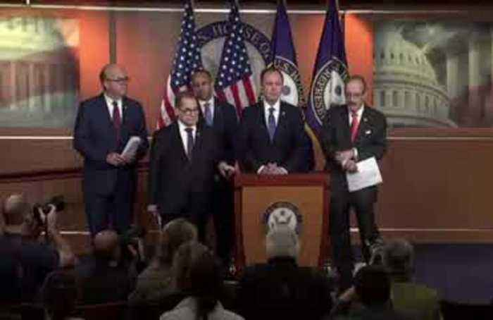 House Democrats move forward on impeachment process