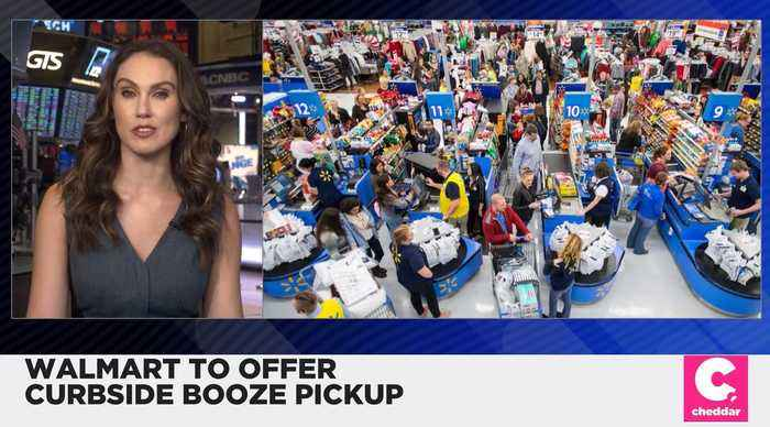 Walmart Is Launching Curbside Booze Delivery