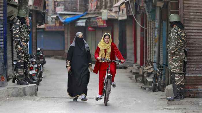 Shops shuttered, streets deserted as Kashmir loses special status