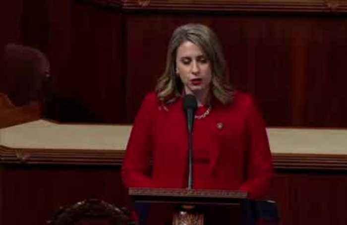 Rep. Katie Hill slams 'double standard' in exit speech