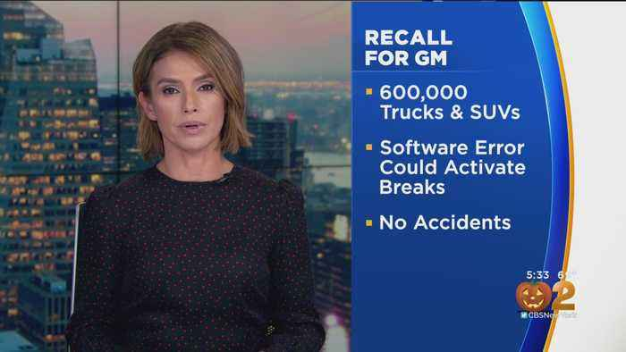 GM Issues Truck And SUV Recall