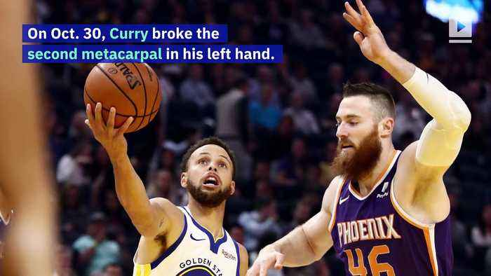 Stephen Curry out for 3 Months Following Left Hand Injury