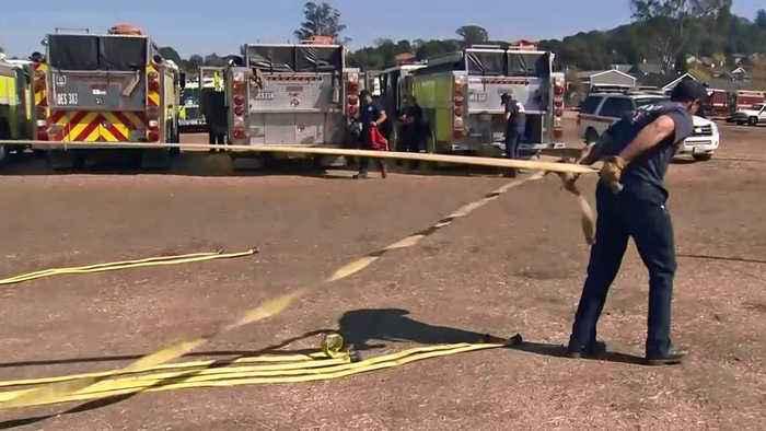 Some Crews Return Home as Kincade Firefight Eases