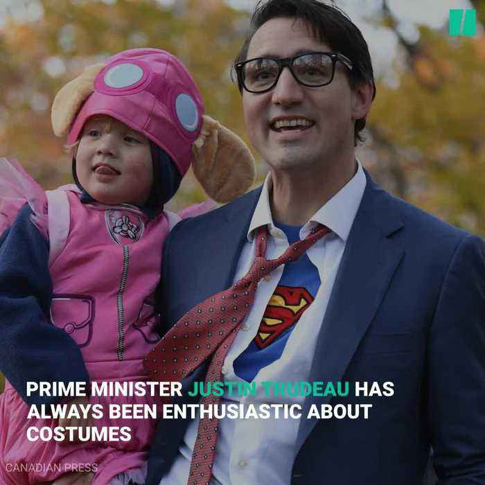 A Look Back At Justin Trudeau's Halloween Costumes