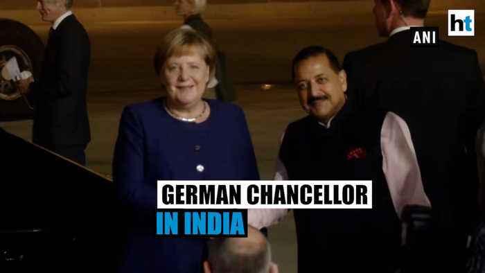 German Chancellor Angela Merkel in Delhi, to meet PM Modi for talks