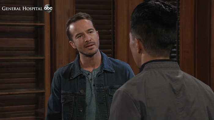 GH Sneak: Lucas Accuses Brad of Cheating