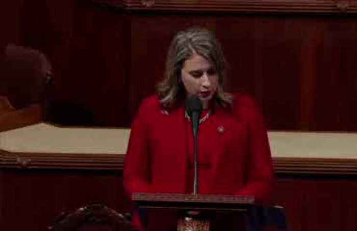 Katie Hill slams 'misogynistic culture' in exit speech