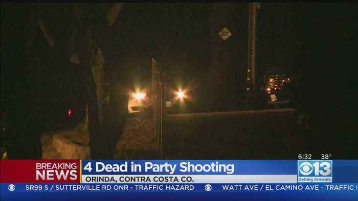 4 Dead In Halloween Night Party Shooting In Contra Costa County