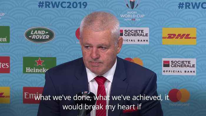 Gatland wants Wales to go forward as he waves goodbye after 12 years in charge