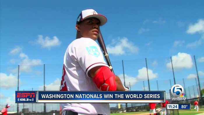 FITTEAM Ballpark of the Palm Beach has another World Series champion