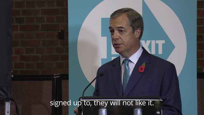 General Election 2019: Nigel Farage tells the PM to 'drop the deal'