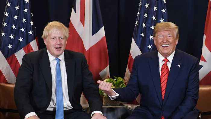 Johnson rejects Trump criticism of Brexit deal
