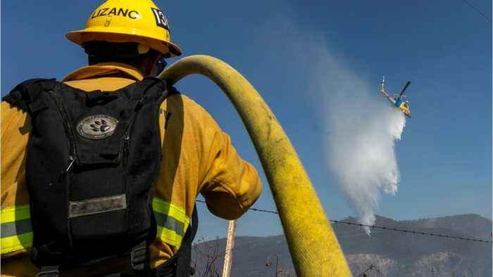 California Fires Threaten Food Supply