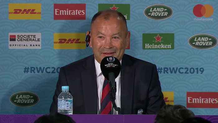 Eddie Jones 'we failed to take out opportunities', after England's World Cup loss