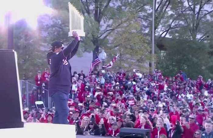 Nationals cap off their World Series winning season with rally in DC