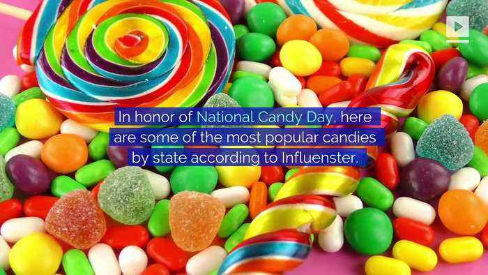The Most Popular Candies by State (National Candy Day)