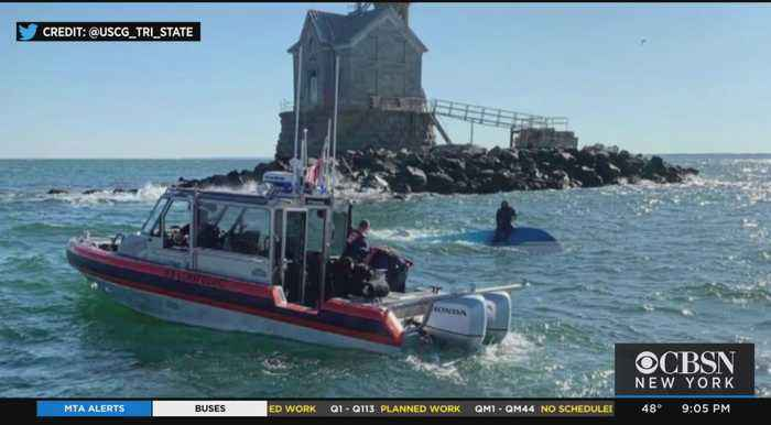 One Dead After Boat Capsized In Long Island Sound